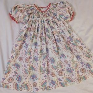 Children's smocked Petit Ami brand dress sz 2T